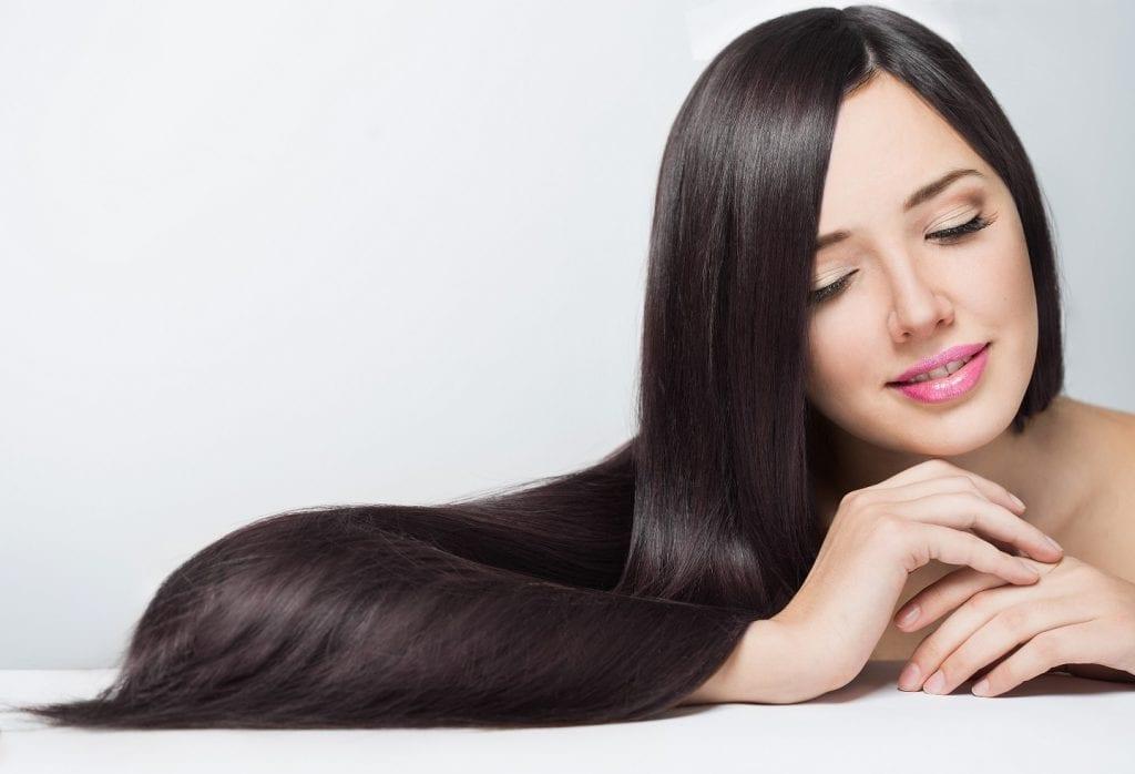 Выпрямление волос кератином EVAN