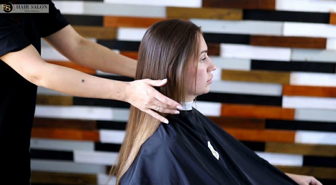 Керапластика, кератинизация + пилинг кожи голови