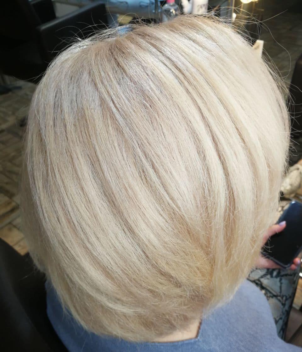 Фарбування волосся + керапластія