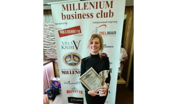 Топ 100 успішних Українців за версією журнала MILLENIUM CLUB, Олена Сидорова, школа восстановления волос